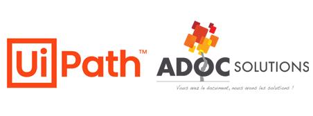 RPA, ADOC Solutions confirme son partenariat avec UiPath